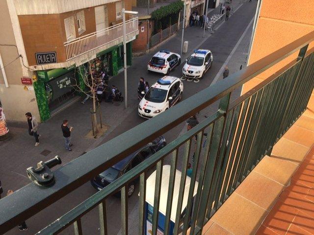 Disparan a una agente de los Mossos d'Esquadra en Santa Coloma de Gramenet