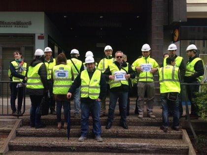Plantilla de Sacyr Construcción en Aragón irá a la huelga