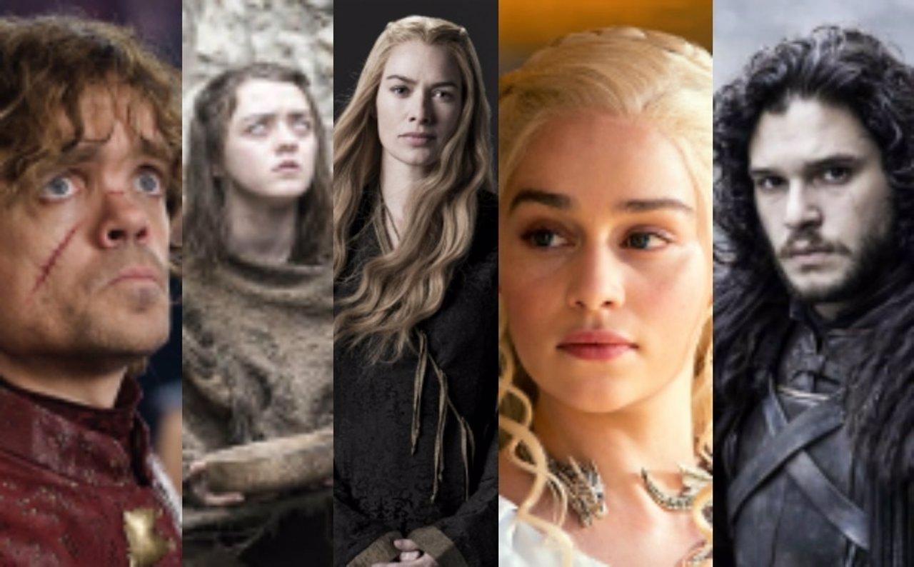 Los principales actores de Juego de Tronos en un collage