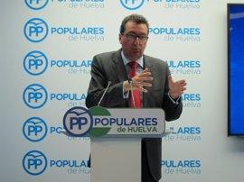 """El PP, sobre que eel exalcalde de Punta Umbría no declare: """"Tendrá algo que ocultar"""""""