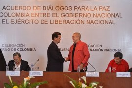 El Gobierno y el ELN inician el diálogo público en Venezuela