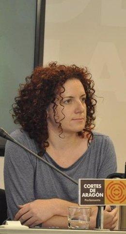 Marisa Fanlo, alcaldesa de Pina de Ebro (Zaragoza)