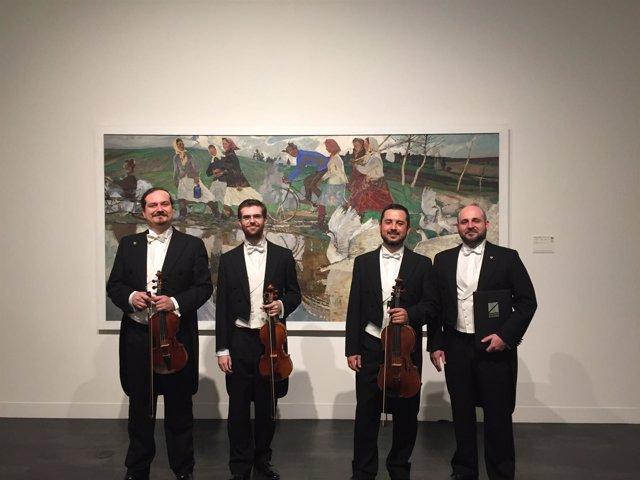 Concerto Málaga toca en museos