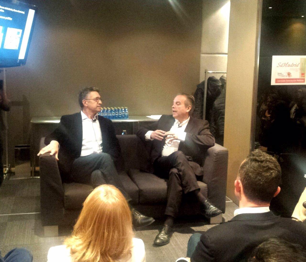 Diálogo entre Antonio Miguel Carmona y José Antonio Díaz