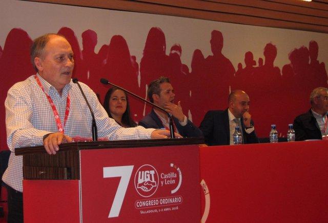 El nuevo secretario general de UGT Castilla y León, Faustino Temprano
