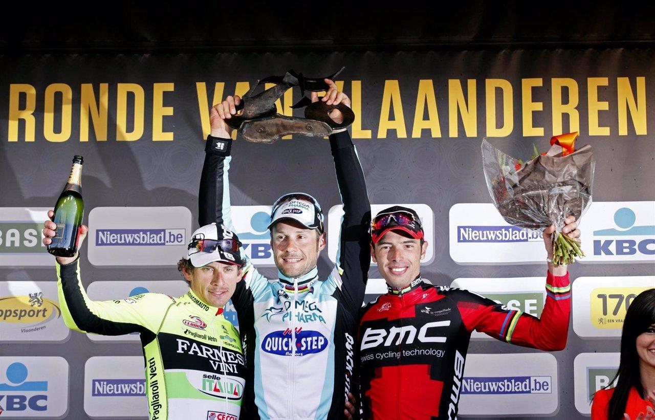 Tom Boonen Consigue Su Tercera Victoria En Flandes