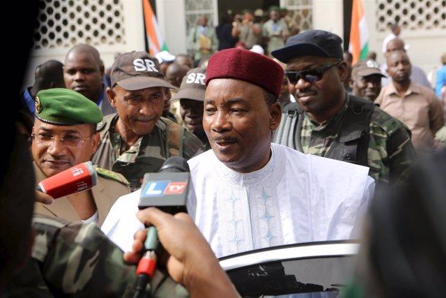 El presidente de Níger, Mahamadou Issoufou.