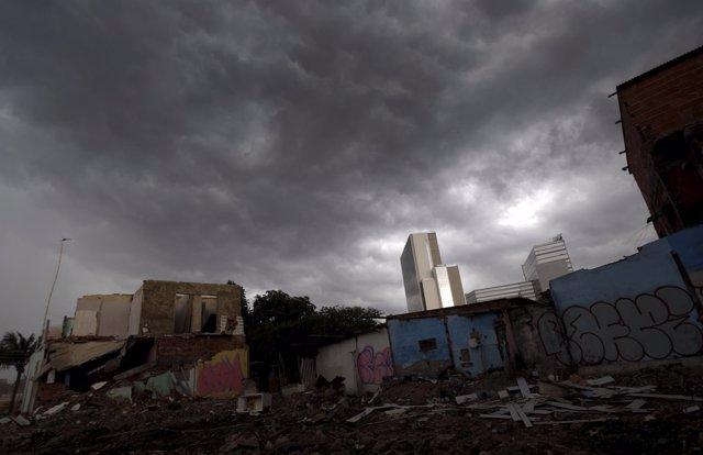 Contraste social en Rio de Janeiro
