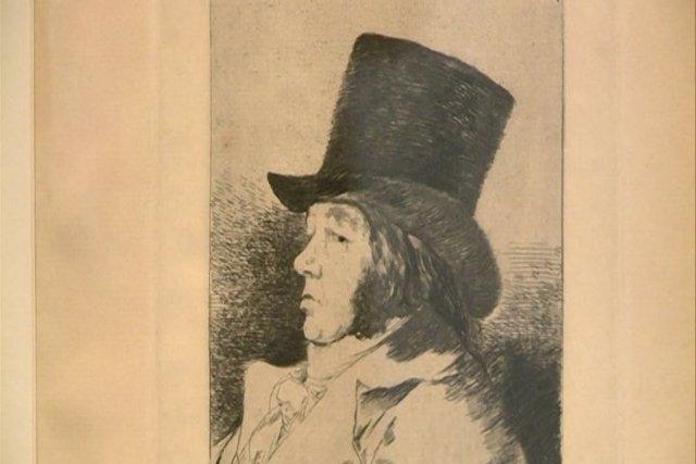 Muestra de grabados de Goya