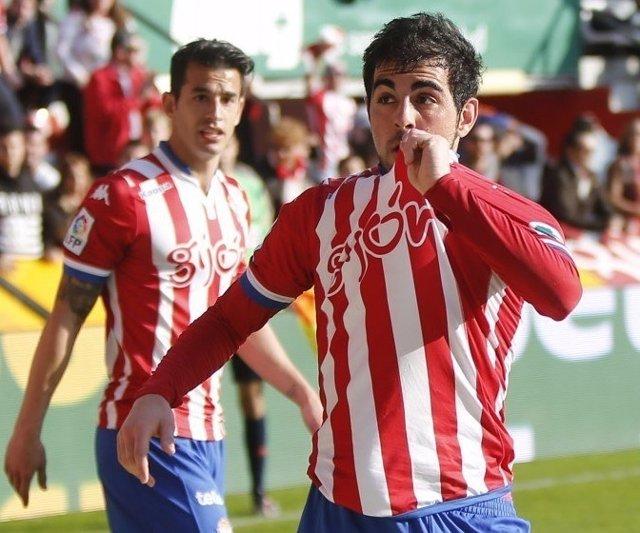 Carlos Castro Sporting Gijón