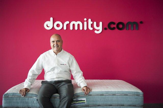 El fundador y director general de Dormity, David Sánchez