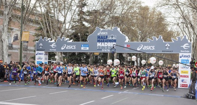 Medio Maratón Asics Villa de Madrid