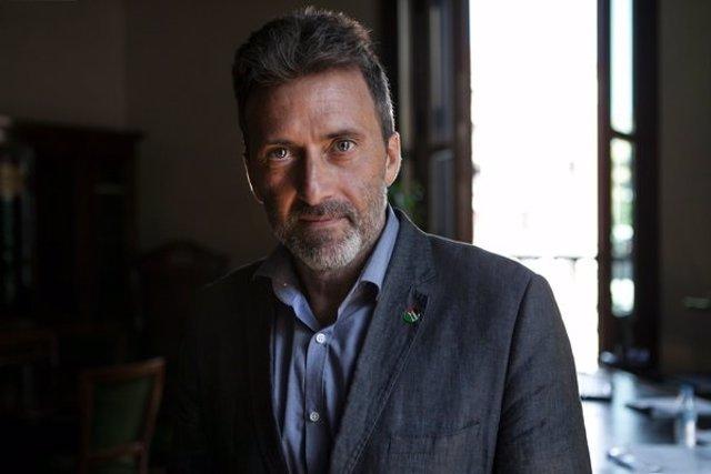 Mauricio Valiente, concejal presidente del distrito de Chamartín