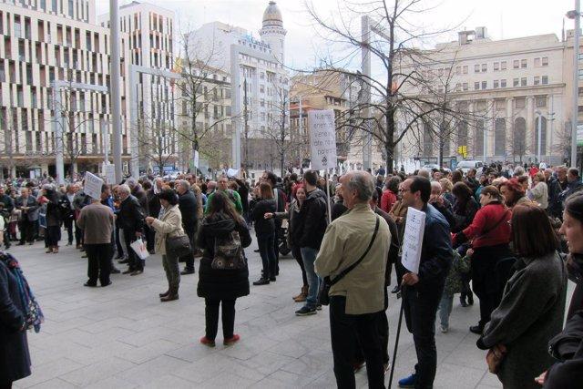 Concentración contra el acuerdo entre la Unión Europea y Turquía.