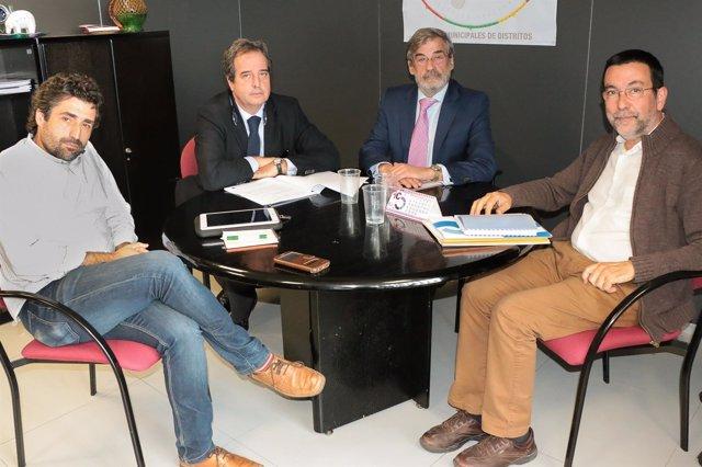 Reunión del Ayuntamiento de Córdoba y la Sareb