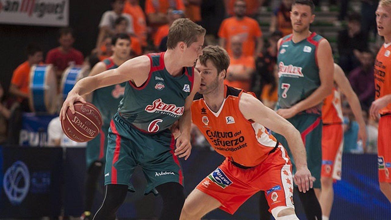 Baloncesto Sevilla Valencia Basket