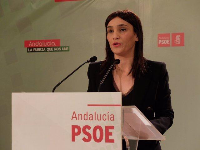 La parlamentaria socialista Olga Manzano
