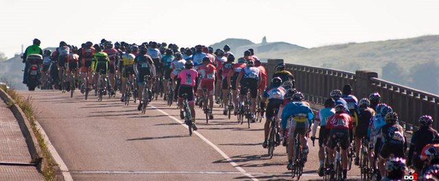 Marcha cicloturista a Peña Cabarga