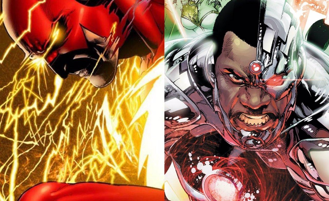 The Flash y Cyborg, de DC Comics