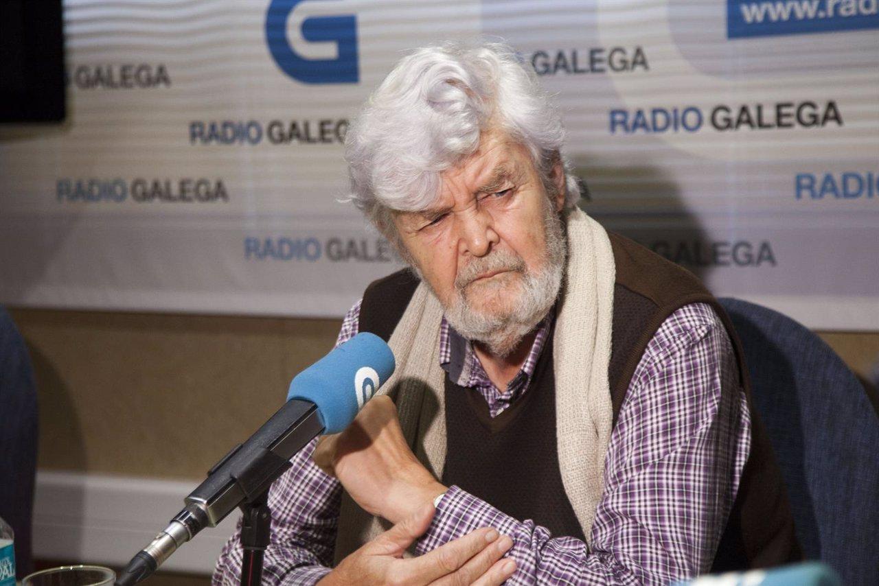 El portavoz de Anova, Xosé Manuel Beiras
