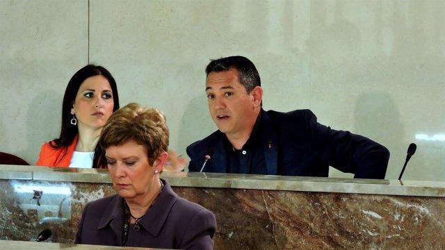 El concejal socialista en Almería Indalecio Gutiérrez