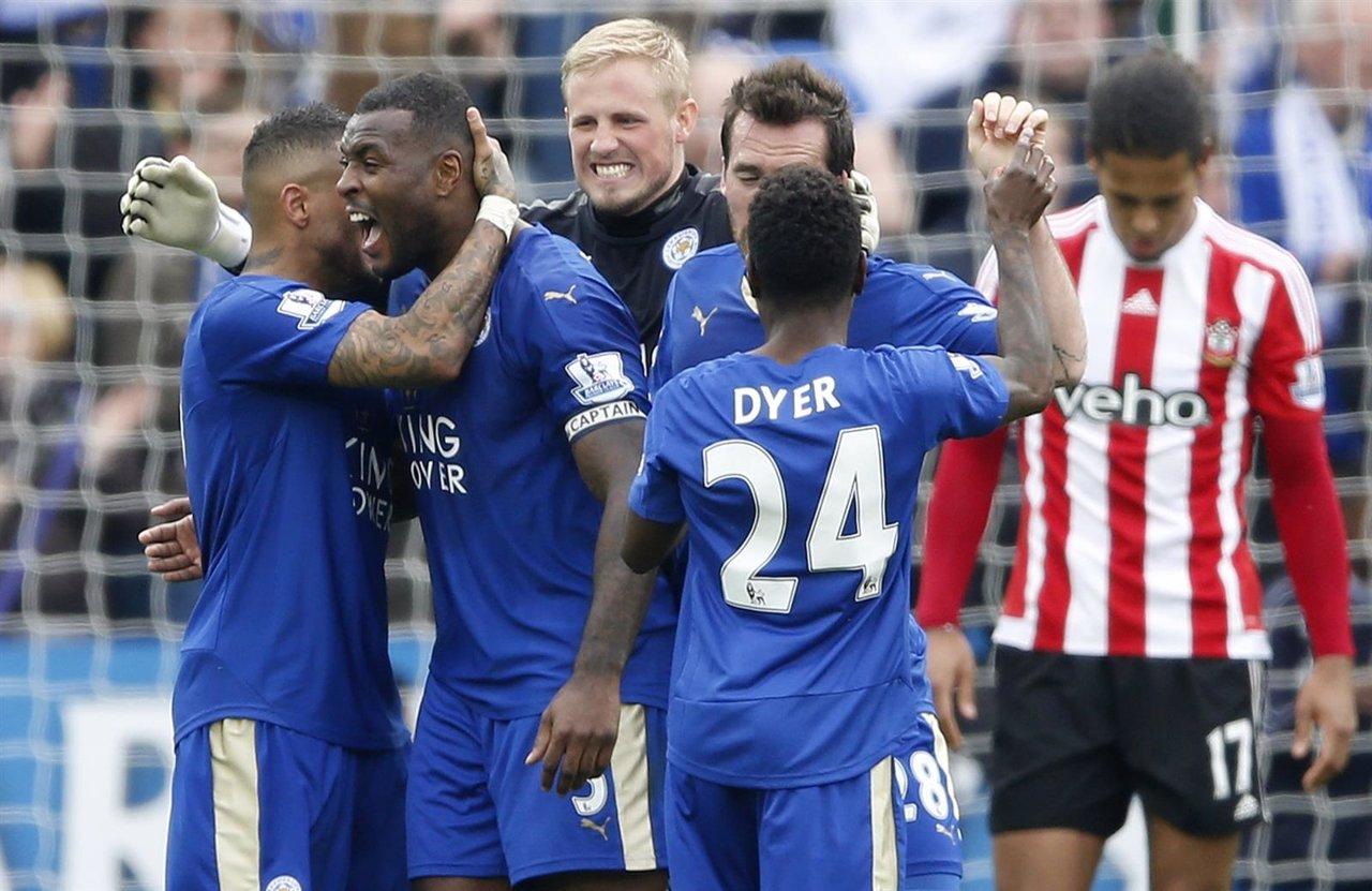 El Leicester, más cerca del sueño tras ganar al Southampton