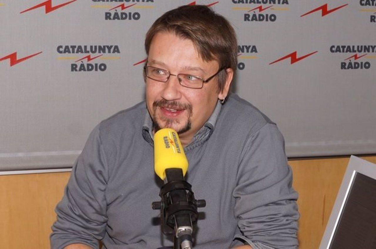 El diputado y líder de EnComúPodem en el Congreso, Xavier Domènech