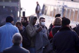 Imágenes: llegan a Turquía los primeros inmigrantes devueltos
