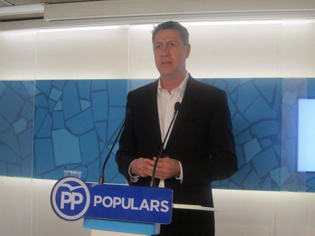 El coordinador general del PP, Xavier García Albiol