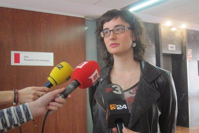 La concejal de Movilidad de Barcelona y presidenta de TMB, Mercedes Vidal