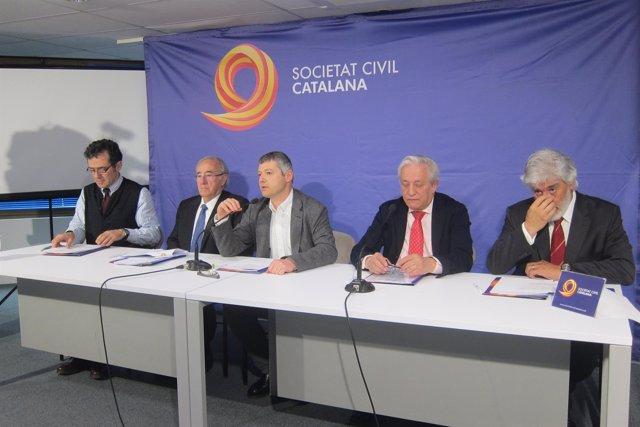Álex Ramos, Agustín Alonso, Joaquim Coll, Xavier Jardí y José María Martínez-Val
