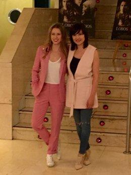 Marian Álvarez y Manuela Vellés presentan 'Lobos Sucios'