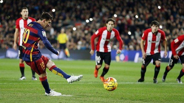 Messi en el Barcelona - Athletic