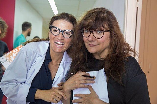 Silvia Abril e Isabel Coixet