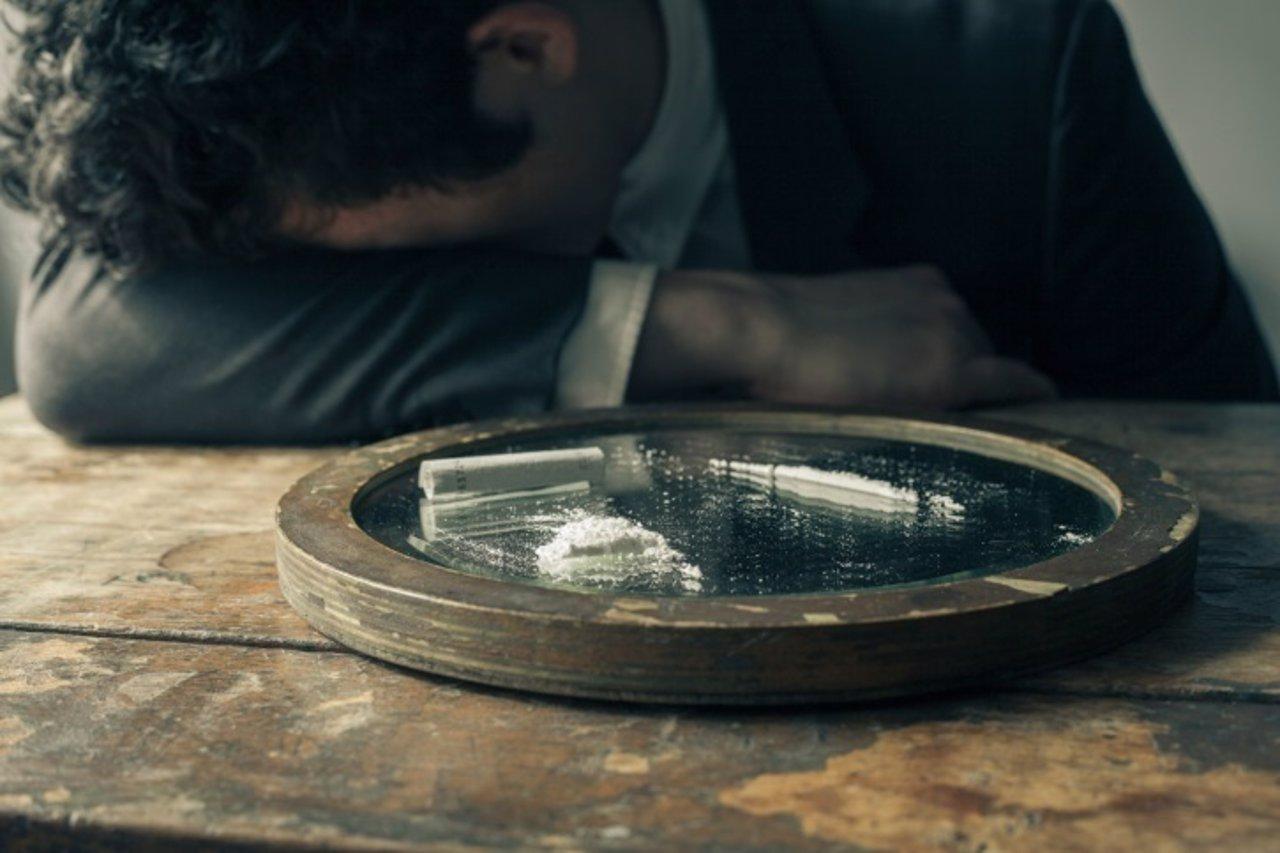 Cocaina, drogas, hombre