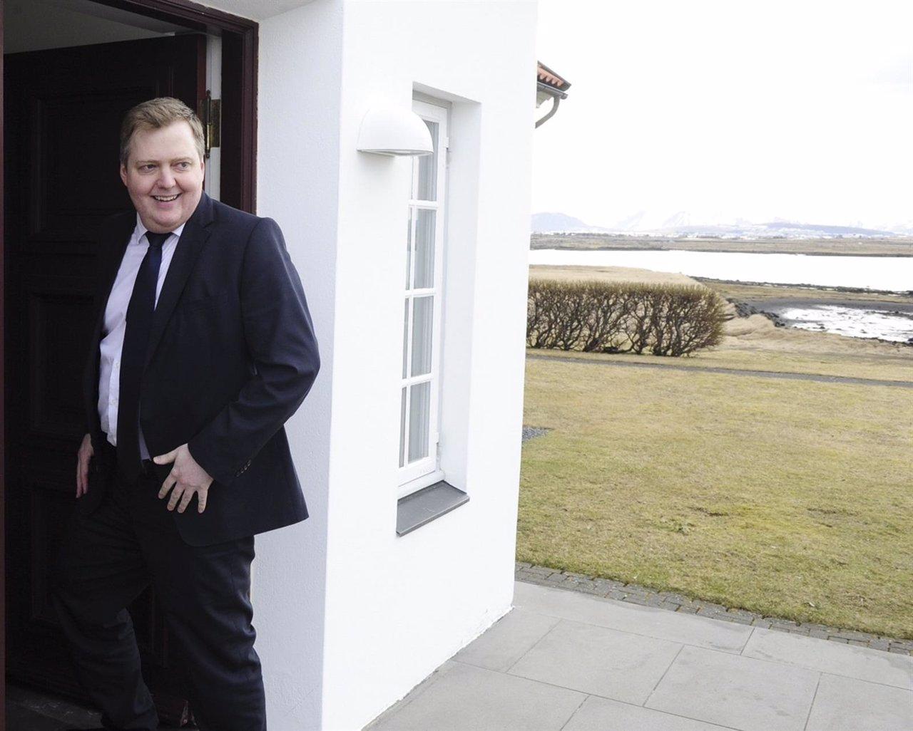 El primer ministro de Islandia, Sigmundur Gunnlaugsson