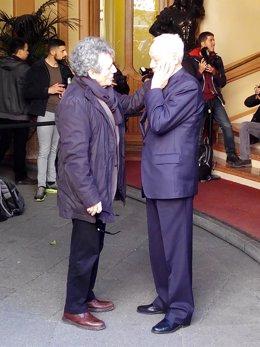 Miguel Ríos muestra sus condolencias al padre de Manolo Tena