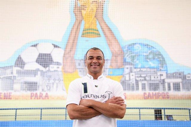 El exjugador brasileño Cafú, embajador Laureus