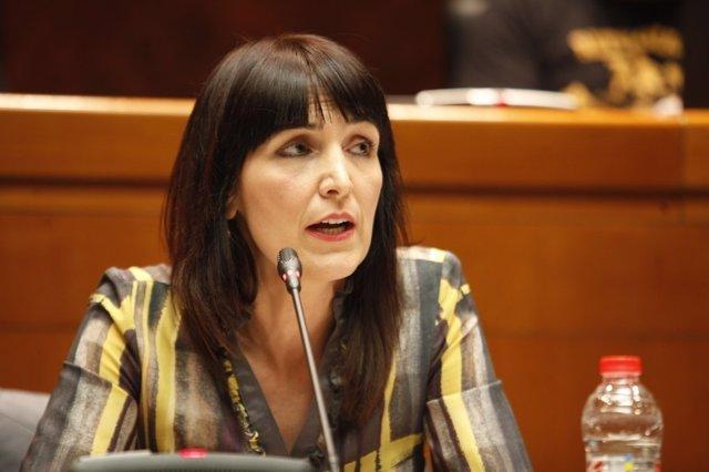 La directora gerente del Instituto Aragonés de Empleo, Ana Vázquez