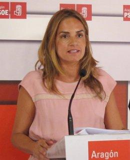 Susana Sumelzo, diputada del PSOE por Zaragoza en el Congreso