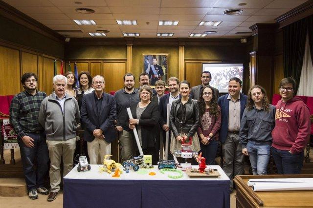 Los equipos participantes en el 'Tecnoencuentro 2016'  proceden de toda Almería.