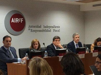 """AIReF ve """"muy escaso"""" margen para reducir el déficit de la Seguridad Social a corto plazo"""