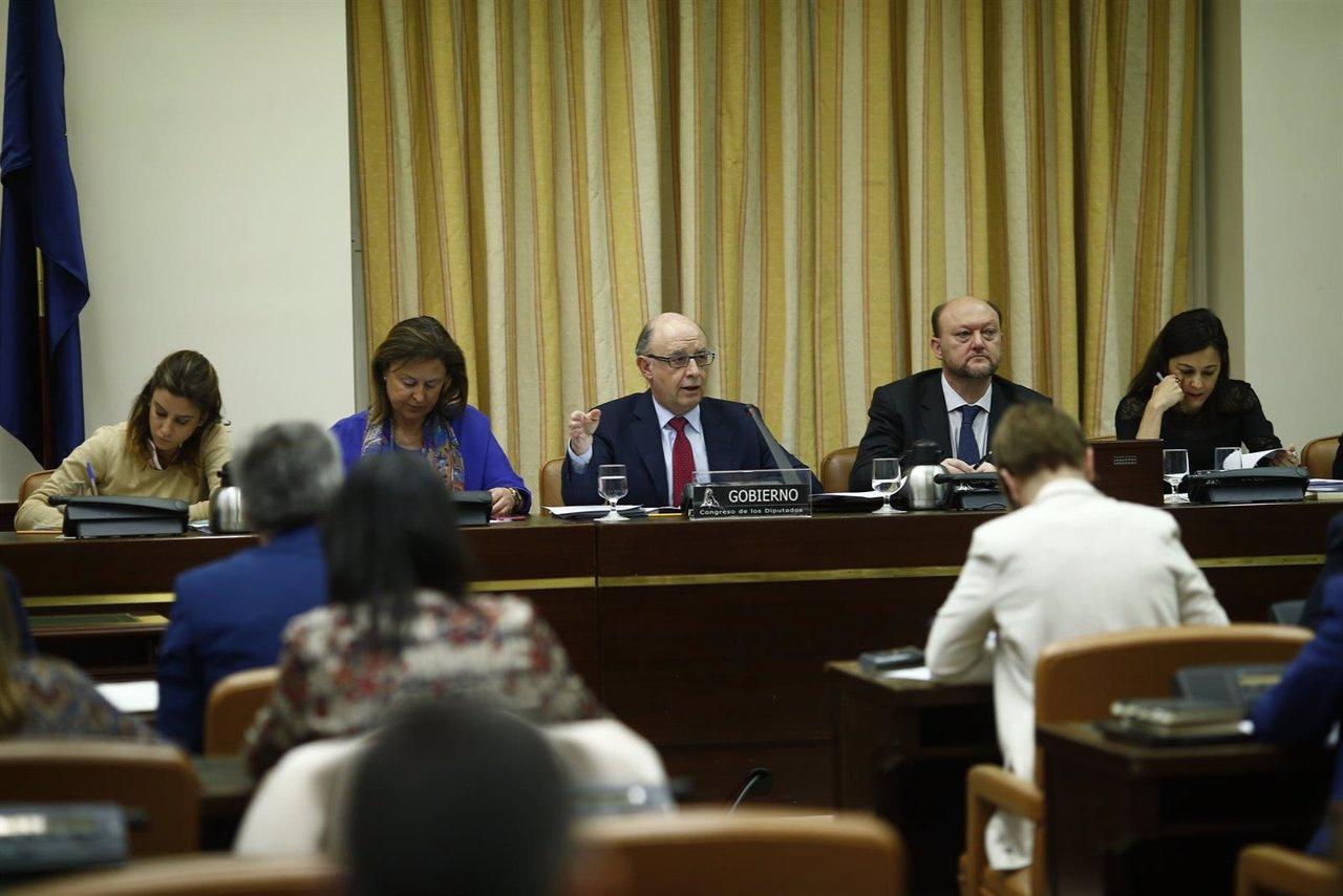Comparecencia de Cristóbal Montoro en el Congreso