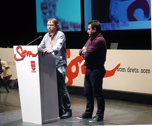 Camil Ros y Matías Carnero (UGT)