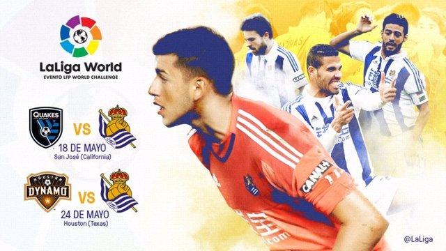 La Real Sociedad hará gira en Estados Unidos este verano