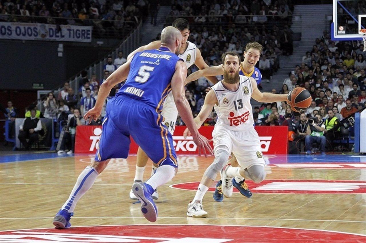 Sergio Rodríguez ante el Khimki en Euroliga