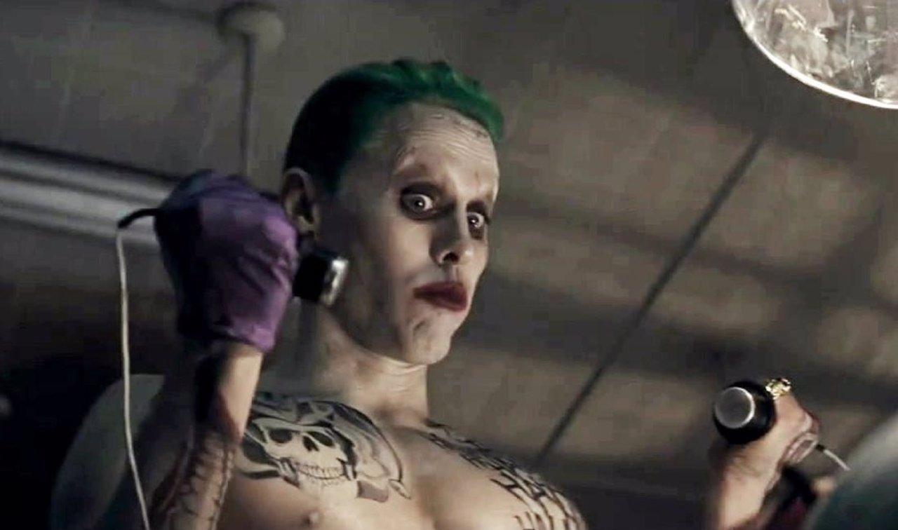 Jared Leto como Joker en Suicide Squad