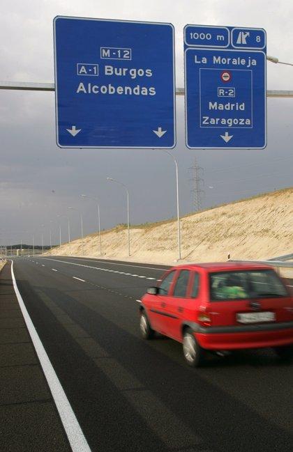 El tráfico de las autopistas crece un 7,5% en febrero