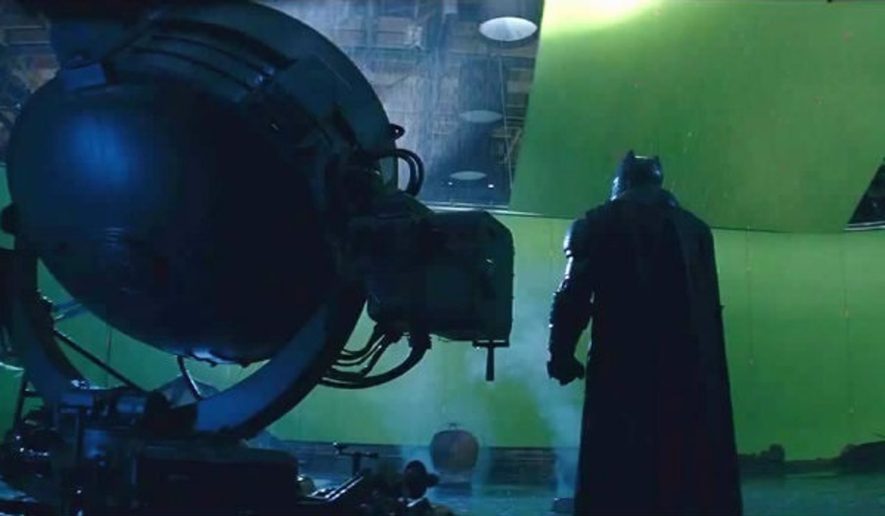 Making off Batman v Superman