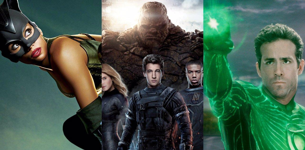 Catwoman, Los 4 fantásticos y Linterna Verde